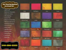 Net System Colors Chart Color Chart Basic Original Floors
