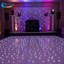 flight case ng with16x16 feet led wedding dance floor concert stage flooring dance dj lighting floor flight case in stage lighting effect from lights