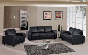 living room with black furniture. Classic Living Room With Black Furniture O