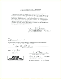 notarized letter notary letter example notarized letter best photos of writing a