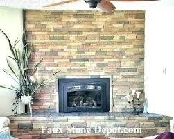 faux stone for fireplace faux stone fireplace surround mantel ideas liveauctioneersco faux stone fireplace makeover