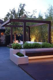 outdoor pergola lighting ideas. pergola garden in west london modern by paul newman landscapes find this pin and more on outdoor lighting ideas