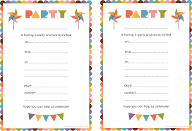 Print Out Birthday Invitations Birthday Invites Enchanting Birthday Invitations Free Printable 2