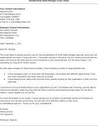 Conference Sales Manager Cover Letter Sarahepps Com