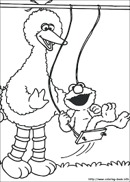 Free Printable Sesame Street Coloring Pages For Kids Free Coloring