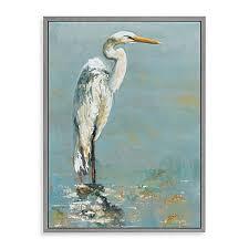 heron canvas wall art on heron canvas wall art with heron canvas wall art bed bath beyond