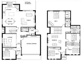 floor house plans in cute two story plan modern small double ranch 4 bedroom