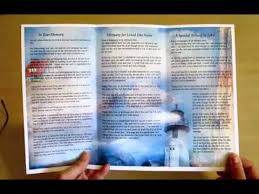 make tri fold brochure how to fold a tri fold brochure program youtube