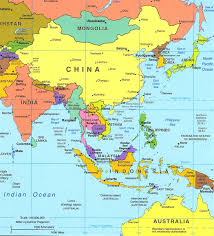 southeast asia maps within south east political map  all world maps