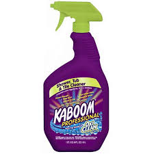 kaboom 40 oz shower and bathtub cleaner
