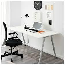 office cabinets ikea. Thyge Desk White Silver Colour 0360742 Pe546389 S5 With Office Desks Cabinets Ikea C