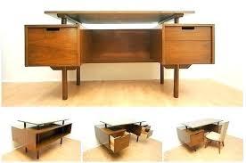 mid century modern office furniture. Mid Century Modern Desk Sofa Style Desks . Office Furniture D