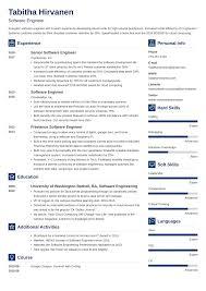 Experienced Software Engineer Resumes 020 Software Engineer Resume 5 Template Ideas Developer