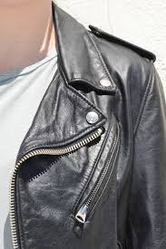 vintaged leather motorcycle jacket more colors