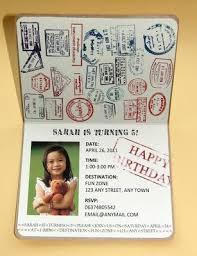 Safari Party Invitations Diy Passport Invitations For A Safari Themed Birthday Party Jungle