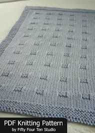 Blanket Knitting Pattern Graph Paper Throw Afghan Knit