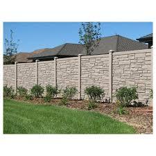 Image White Vinyl Simtek Ecostone Vinyl Fence Sections Jacksonville Fence Company Simtek Ecostone Vinyl Fence Sections Hoover Fence Co