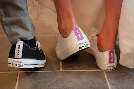 Afbeeldingsresultaat voor converse schoenen bruiloft
