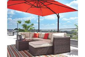 patio furniture with umbrella. Beautiful Patio Oakengrove Patio Umbrella  Large For Furniture With Umbrella