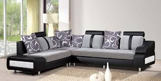 amazing living room furniture idea with gray sofa and gray throw pillows with white plant motives amazing living room furniture