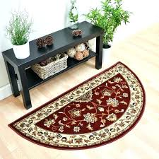 half moon rugs half moon rugs for kitchen with best red images on rug elegant half