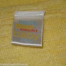 Martha Stewart Everyday Yellow Knit Baby Blanket | What's it worth &  Adamdwight.com