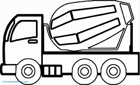Dump Truck Coloring Pages Lovely Construction Vehicles 1