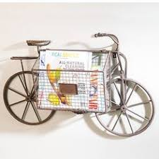 >http www victoriantradingco item 50 hd 5028116 100101100 cape  bicycle with storage basket wall decor 47 liked on polyvore featuring home