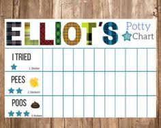 Potty Sticker Chart Diy Potty Training Reward Chart
