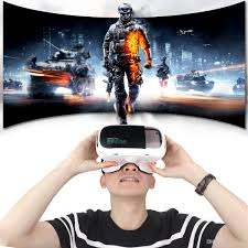 riem3 plus abs head mounted 3d virtual reality vr glasses with ar function and buffer sponge for 4 7 6 inch phone hmp 707 diy 3d glasses homemade 3d glasses