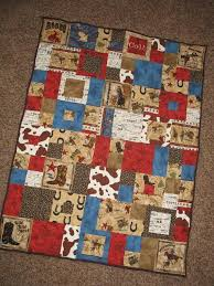 Western+Handmade+Quilts+ +handmade+cowboy+quilt+ +Custom+Order+-+ ... & Items similar to Custom Order - Western, Cowboy, Rodeo Baby Quilt - with  Embroidered Name on Etsy Adamdwight.com