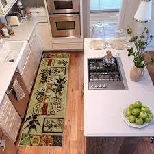 oliva panels kitchen rug by mohawk home farmhouse kitchen