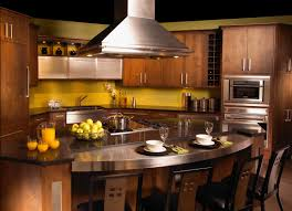 lovely ideas for kitchen islands. Inspiring Kitchen Furniture Design And Decor Ideas : Contempo Oval Island With Stainless Steel Countertop Lovely For Islands T