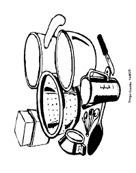 Small Picture coloring pages kitchen utensils free coloring pages kitchen