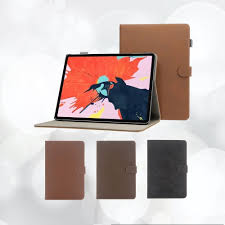 High quality <b>magnetic leather case for</b> iPad Pro 11 and 12.9 inches ...