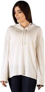 Inca Fashions - Women's Carissa Baby Royal Alpaca Knit Hoodie, Dye ...