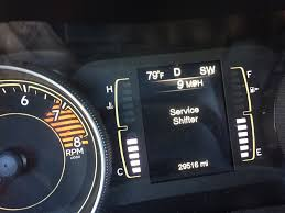 Jeep Cherokee 2016 Check Engine Light Jeep Cherokee Questions Service Shifter Light Cargurus
