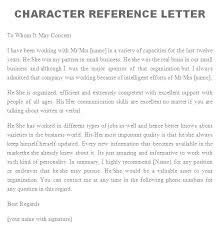 Letter Of Recommendation For Caregiver Nanny Reference Letters Child