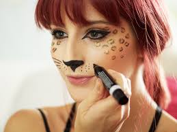 leopard makeup tutorial with h m