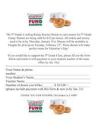 Krispy Kreme Fundraiser Profit Chart 2019 Krispy Kreme Fundraiser Order Form