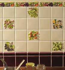 kitchen tiles with fruit design. coupe de fruits display 10x10 (4\ kitchen tiles with fruit design pinterest