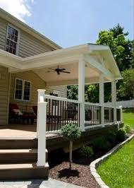 covered deck ideas. Custom TimberTech Deck/Porch, West Chester PA - Keystone Decks Covered Deck Ideas C