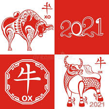 Traditional new year chinese ox copy space top view. Design Of Happy Chinese New Year 2021 Year Of Ox Chinese New Year 2021 Year Of Sponso Chinese New Year Wishes Chinese New Year Design Happy Chinese New Year