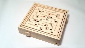Wooden Maze Game With Ball Bearing Labyrinth From a Single 100x100 1000 Steps with Pictures 92