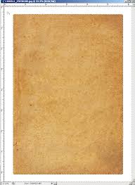 creating the wanted poster paper background