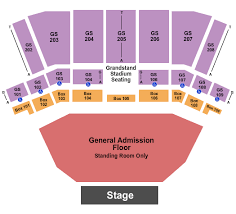 Northern Quest Outdoor Seating Chart Outdoor Stage At Northern Quest Casino Tickets Airway