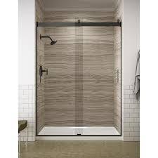 h frameless sliding shower door