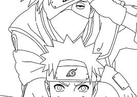 Naruto Coloring Book Anime Pages With X Pictures Beccamauger Win