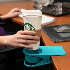 awesome office accessories. clip-on cup holder awesome office accessories c