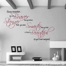 wall decoration sticker es uk and braver stronger smarter cut stunning 850x850 startling art